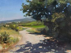 Winding Road by Julian Merrow Smith