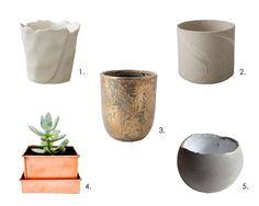The Best Basics: 10 Good, Cheap Houseplant Pots