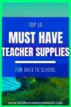 """One thing so many teachers take pride in is their classroom environment. There are so many tangible k 12 classroom supplies that can turn your room into the student-centered learning oasis of your dreams.Instead of trying to find """"teacher stores near me"""" in an online search, take a look at the fabulous classroom supplies we have listed below. You will wonder how you ever made it in the classroom without these mind-blowing teacher supplies (no matter what grade you teach!)."""
