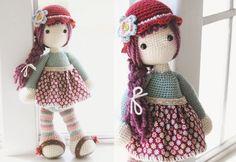 Cute crochet doll...