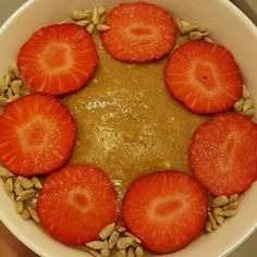 # Receitas de papas de aveia – Conceito FIT Breakfast And Brunch, Grapefruit, Food Inspiration, Strawberry, Food And Drink, Tasty, Healthy, Lactose, Chloe