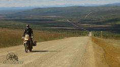 Lone rider on a seemingly endless road, link to itinerary, jun 4-13, 2015