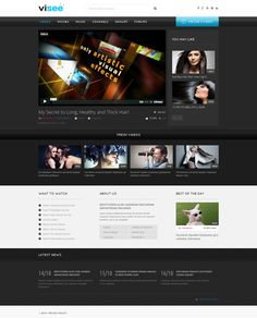 Website Template , Video Lab