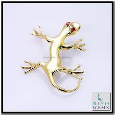 Animal Jewelry, Gold Pendant, Plating, Fashion Jewelry, Gems, Brooch, Brooch Pin, Trendy Fashion Jewelry, Gemstones