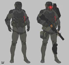 OBOKHAN Weapon Concept Art, Armor Concept, Character Concept, Character Art, Character Design, Science Fiction, Combat Armor, Futuristic Armour, Sci Fi Armor