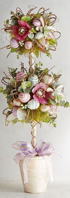 Easter Topiary | Easter Decor & Decorating Tips