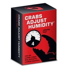 Crabs Adjust Humidity Card Game Volume Four