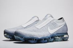 The Nike VaporMax sneakers debuted in the Comme des Garcons spring runway show. Nike Air Max, Nike Air Jordans, Nike Lunar, Nike Fashion, Fashion Shoes, Men's Fashion, Africa Fashion, Petite Fashion, Fashion Weeks