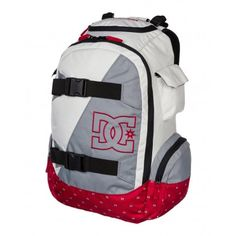 DC Shoes Wolfbred Backpack - Grey & Violet