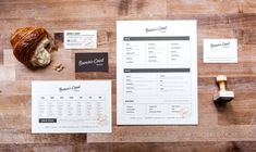 Browns Court Bakery branding by Studio Nudge