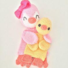 littlecosythings crochet rag doll blankies