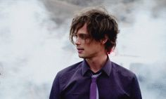 "When he perfected the ""just rolled out of bed"" look: 
