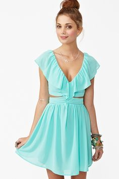 mint- love this dress! Perfect for the summer!