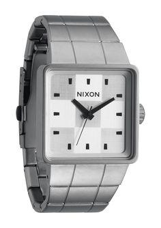 NIXON   QUATRO   SANDED WHITE   $150.00