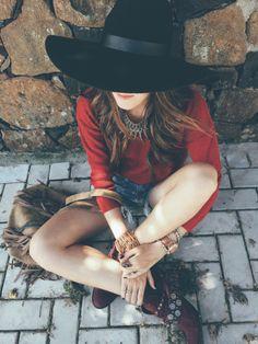FashionCoolture Instagram hat boho