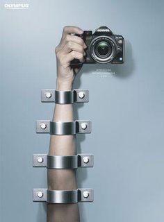 Olympus, anti-handshake #advertisement #creativity #photo