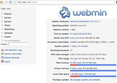 Webmin is a web-based graphical tool for unix . It is used to manage services like User management, Disk managemet, Network, Iptables ( Firewall ), Cron, Apache, DNS, File sharing and much more .