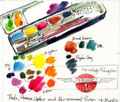Artists' Journal Workshop: Trying new things, challenging ourselves