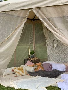 Backyard Easy Ideas – Hallstrom Home - Modern Design Diy Teepee Tent, Backyard Canopy, Canopy Outdoor, Tent Canopy, Outdoor Decor, Backyard Camping Parties, Tent Camping, Glamping, Campsite