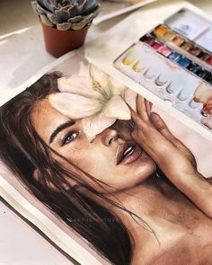 Boat Discover Watercolor on the verge of fantasy photos) copic coloring portrait female faceless portrait colorful portrait autumn portrait Pencil Art Drawings, Realistic Drawings, Art Sketches, Flower Sketches, Drawing Art, Faceless Portrait, L'art Du Portrait, Watercolor Portraits, Watercolor Paintings
