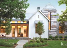 By combining rural and modern influences, a structure near Denver presents a home that is both sophisticated and stylish.