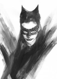 The Dark Knight Rises: Selina Kyle - Catwoman by Ben Oliver