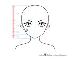 Anime delinquent female character one eyebrow raised drawing Anime Face Drawing, Anime Character Drawing, Drawing Faces, Anime Faces Expressions, Drawing Expressions, Face Structure Drawing, Anime Head Shapes, Anime Eyebrows, How To Draw Anime Eyes