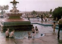 Fairy Dell paddling pool at Skegness Loved this place Lincolnshire England, Caravan Holiday, Wooden Swings, Swing Seat, Holiday Places, Short Break, Back In The Day, Far Away