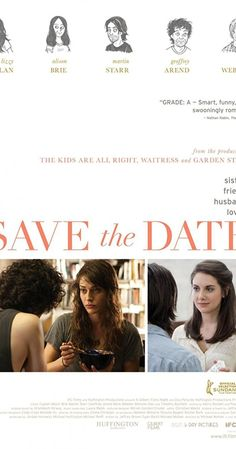 Directed by Michael Mohan. With Lizzy Caplan, Alison Brie, Mark Webber, Geoffrey Arend. Sarah begins to confront her shortcomings after she rejects her boyfriend's hasty proposal and soon finds herself in a rebound romance. Meanwhile, her sister Beth is immersed in the details of her wedding.