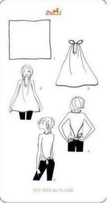 scarve tie | fashion tips  #scarve #fashion