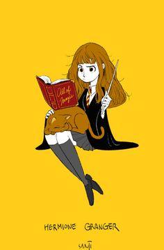 """sanjiseo: """" I love Hogwarts trio! """""""