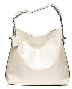 Coach Soft Smooth Leather Peyton Shoulder Hobo « Clothing Impulse