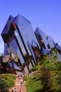Marvelous Architecture around the World : Futuristic Architecture, Kinemax, Futuroscope France.