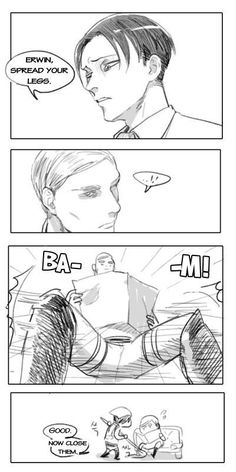 Erwin x Rivaille