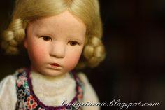 Lena Grineva, art dolls: Девочка Kruse...
