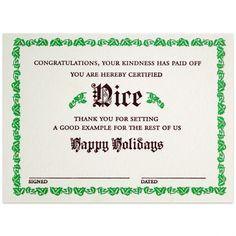 A. favorite nice certificate