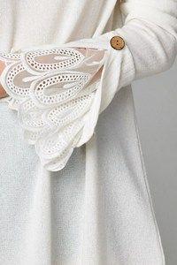 Image of Lace Bell Sleeve Sweater Dress Kurti Sleeves Design, Sleeves Designs For Dresses, Sleeve Designs, Fashion Sewing, Diy Fashion, Ideias Fashion, Fashion Dresses, Sewing Clothes, Diy Clothes