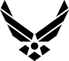 Military Air Force Vinyl Decal by TreeFrogDecals on Etsy https://www.etsy.com/listing/449353094/military-air-force-vinyl-decal