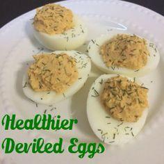 Healthier Deviled Eggs