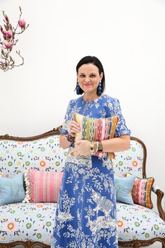 Anna Spiro launches her first textiles collection - The Grace Tales