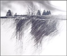 Rick Anderson Art Gallery of drawings with ebony pencil and prismacolor pencil, 5 of 5