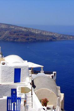 #Oia & #Thirassia #Island, #Santorini