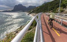 Ciclovia Tim Maia, Avenida Niemeyer, Rio de Janeiro - RJ, Brasil