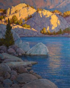 """Jean LeGassick, """"What a Little Sunlight Will Do,"""" Oil on canvas on board 30"""" x 24"""" $7,500 (Signature Artist) (105th Annual Gold Medal Exhibition, April 3-24, 2016; Autry Museum of the American West) #cacgoldmedal #105gm #artevents #theAutry"""
