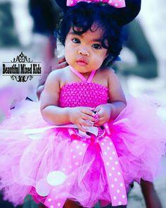 Alana - 1 Year • African American, Mexican & Filipino ❤ FOLLOW @beautifulmixedkids on instagram WWW.STYLISHKIDSAPPAREL.COM
