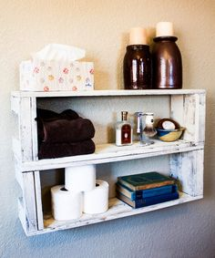 Look at this #zulilyfind! Two-Tier Reclaimed Wood Shelf - Set of Two by Drakestone Designs #zulilyfinds