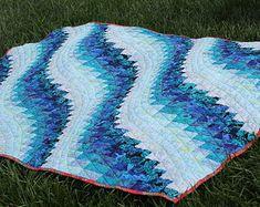 Ocean Waves quilt—in