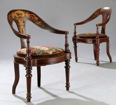 C Pair Spoonback Chairs - Arenskjold Rustic Furniture, Luxury Furniture, Heritage Hotel, Beautiful Sofas, Single Chair, Antique Chairs, Cool Chairs, Classic House, Home Interior Design