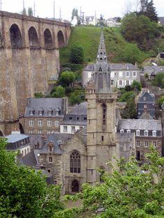 Clocher d'une église de France : 29151 - Morlaix