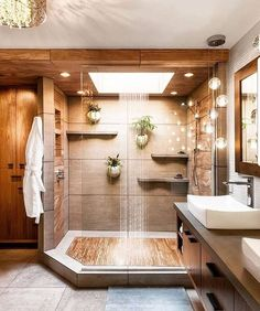 Teak floors in a walk in shower 2019 Dream shower! Teak floors in a walk in shower The post Dream shower! Teak floors in a walk in shower 2019 appeared first on Shower Diy. Dream Bathrooms, Beautiful Bathrooms, Luxury Bathrooms, Coolest Bathrooms, Master Bathrooms, Spa Bathrooms, Romantic Bathrooms, Master Baths, Upstairs Bathrooms